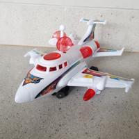 mainan sky bomber bump n go/mainan pesawat terbang antariksa
