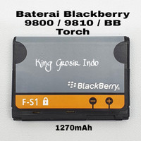 Baterai Blackberry 9800 / 9810 / BB Torch / F-S1 Original OEM Battery