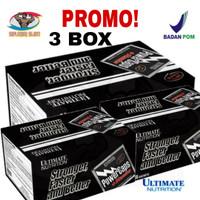 PROMO Ultimate Nutrition PowerCAPS + STAMINA Box 72 Caps 3 BOX