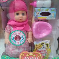 mainan boneka baby lovely doll/boneka pipis hijab