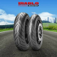 ban Xmax Pirelli Diablo Rosso Scooter 120/70 r15 & angel 150/70 r14