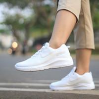 sepatu Nike wanita dan pria / sepatu putih polos, biru, abu-abu, hitam