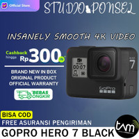 (TAM) GoPro HERO 7 Black 4K - Go Pro Hero7 Camera bukan 8 / Max