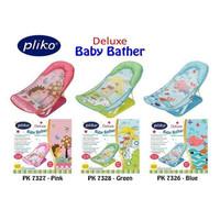 Pliko Deluxe Baby Bather Bak Tempat Mandi Bayi - Merah Muda