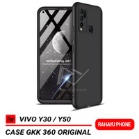 Case VIVO Y30 Y50 Hardcase GKK 360 Original - Hitam