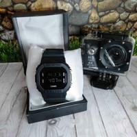 Jam tangan Pria GSHOCK CASIO NOT EIGER ANTI AIR 5600 DIGITAL HITAM