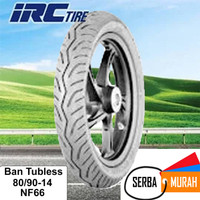 Ban motor matic tubless IRC 80/90-14 NF66