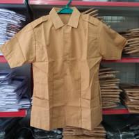 Seragam Baju Pramuka SMA Penegak / Pembina Lengan Pendek