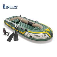 PERAHU KARET INTEX SEAHAWK 3 PROMO INFLATABLE BOAT KAPAL AIR DAYUNG