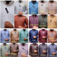 Baju koko Ammu Dewasa S, M, L, XL Original kerah Haibah, kerah tinggi