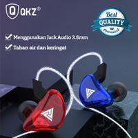 Headset Earphone Kabel Sport Anti Air QKZ CK5 Stereo Dengan Microphone