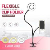 LAZYPOD STAND SELFIE TIKTOK YOUTUBER 3 in 1 Holder HP-RING LIGHT