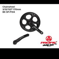 Chainwheel Crank Sepeda Pacific 52T SP - F104