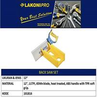 Gergaji 12 101816 LAKONI PRO / Back Saw Set LAKONIPRO