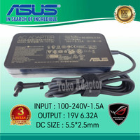 Adaptor Charger Asus VivoBook Pro 15 N580V N705UV FX753VD 19V-632A Ori