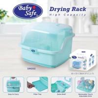 Baby Safe Drying Rack Extra Besar/Rak Pengering Botol Bayi Extra Besar