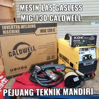 MESIN LAS CALDWELL MIGI MIG 130 / TRAFO LAS CALDWELL MIG 130 G GASLESS