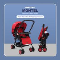 Stroller Babydoes 2455 Montel Dua Arah Reversible