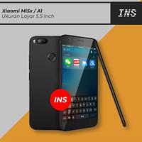 Casing Darknight Xiaomi Mi 5X / Mi5X / Mi A1 Slim Case Softcase Hitam