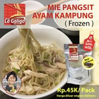 Bakmi ayam kampung dengan mie homemade - Kios Lagaligo 1977 ,Makassar