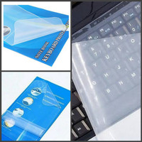 Universal Pelindung Keyboard Laptop Anti Debu Cover 14 Inch