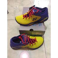 Sepatu Badminton Yonex SHB 03 Z Men Yellow Blue Original Murah Murah