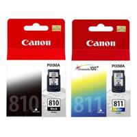 Cartridge Canon CL 811 & PG 810 Satu set