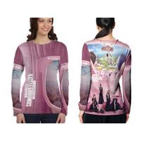 Baju Kaos Tshirt Jersey Tangan Panjang Wanita PUBG Mobile x Blackpink