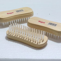 Sikat cuci baju kayu / merk bagus / lembut halus wooden brush