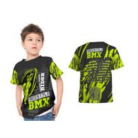 2S5 - Baju Kaos Tshirt Jersey Anak Sepeda BMX Bike Rider 01 Print