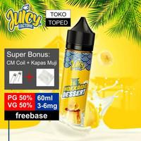 HOKKAIDO DESSERT 60ml   3mg 6mg   freebase vape liquid banana rum 50