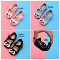 SL129- sepatu jelly owl flatshoes anak balita perempuan girl KIDS