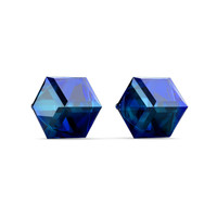 Classic Cube Earrings - Anting Crystal by Her Jewellery