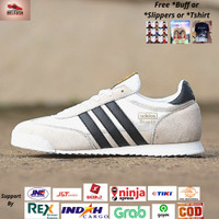 Sepatu Adidas Dragon White Black Original BNWB - Sepatu Pria Sneakers