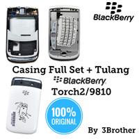 Casing Blackberry 9810 Torch2 Full Set Original