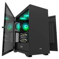 DarkFlash DLX22 Black ATX Computer gaming Case