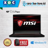 LAPTOP MSI GF63 9SCSR [9S7-16R412-883] i5-9300H 8GB 256GB GTX1650Ti 4G