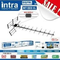 Antena antene TV digital + Kabel Jek 13m INTRA INT-003 Solid Alumunium