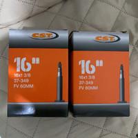 ban dalam cst 16 x 1 3/8 pentil presta 60mm