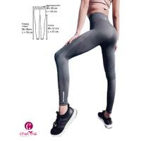 Chelyne Legging Sport Olahraga TMK2367 Bahan Rajut