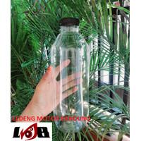 Botol Kale 1L Plastik Kosong Tebal Tempat Minum Air Kopi Susu