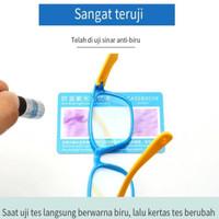 1Pc Kacamata Lensa Datar Anti Radiasi Bahan Silikon Murah