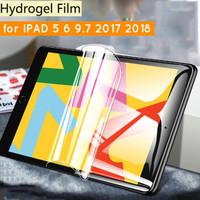iPad 5 6 9.7 9,7 2017 2018 Hydrogel Screen Guard Protector Anti Gores