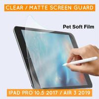 iPad Air 3 Pro 10.5 Antiglare Screen Protector Antigores Bening Matte - Bening