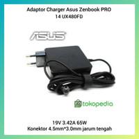 Adaptor Charger Asus Zenbook PRO 14 UX480FD 19V 3.42A Original