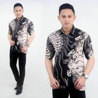 Baju Faforit Kemeja Grosir Batik Lengan Pendek Pria Keren Gion Good