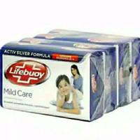 LIFEBUOY SABUN BATANG MILD CARE 110gr x 4pcs