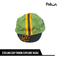 CYCLING CAP FNHON EXPLORE HIJAU