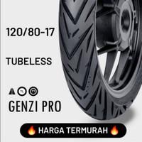 HARGA TERMURAH !!! FDR TUBELESS GENZI PRO 120/80-17 Ban Motor