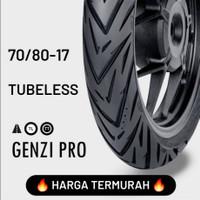 HARGA TERMURAH !!! FDR TUBELESS GENZI PRO 70/80-17 Ban Motor
